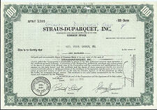 Guardian Development Corp. Stock Certificate 100 Shares Issued 1969