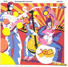 Oranges And Lemons by XTC (CD, Mar-1989, Geffen Gold Lin)