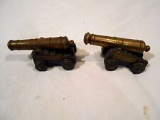 2-Vintage MFCO USS Constitution Brass & Cast Iron Cannons USA