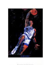 Terry Rose Slam Dunk poster stampa d'arte immagine 36x28cm-SPEDIZIONE GRATUITA