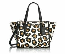 NWT COACH 33845 Multicolor Mini Crossbody Carryall in Ocelot Print  Leather Bag