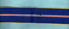MALAYSIA - ORDER OF THE DEFENDER OF THE REALM RIBBON  6 INCHES (15cm) 5cm Wide