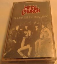 Blessing in Disguise by Metal Church (Cassette, Feb-1989, Elektra (Label))