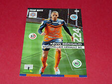 KEVIN BERIGAUD MONTPELLIER MHSC MOSSON FOOTBALL ADRENALYN CARD PANINI 2015-2016