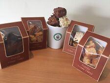 3 scatole di fatto in casa BROWNIE AL CIOCCOLATO BIANCO (bionda)