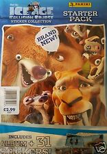 ICE AGE 5 COLLISION COURSE STARTER ALBUM & 50 PACKS FULL BOX STICKERS BRAND NEW
