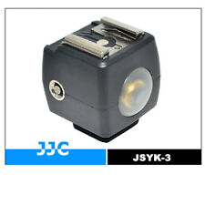 JSYK-3B ISO Flash Slave Trigger Hot Shoe Sync Adapter With optical sensor 66ft