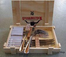WMF Steakbesteck 12 tlg. IN HOLZKASSETTE