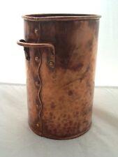 Quality Vintage Copper Arts & Crafts Wine Cooler / Bottle Stand - H Barnes