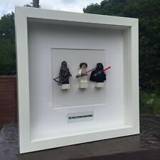 Star Wars Minifigures Framed Gift Lego Scrabble Personalised Luke Skywalker