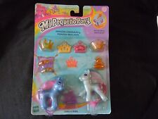 MY LITTLE PONY - G2 ROYAL TWINS JEWEL & SPARKLE  (SPANISH) - MOC