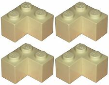 Missing Lego Brick 2357 Tan x 4 Brick 2 x 2 Corner