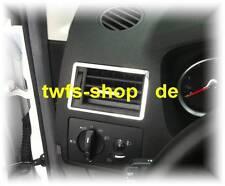 D Ford Kuga Chrom Rahmen für Lüftungsschacht außen - Edelstahl poliert 2 Teile