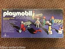 Playmobil System Construction Worker Deluxe Set Schaper 1976