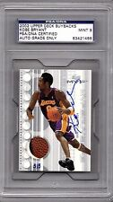 2002 Upper Deck MVP Kobe Bryant Jersey Ball AUTO 3/3 PSA 9 Wow! Only 1 Graded!