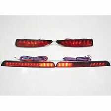 FIT FOR MAZDA 3 2004-2009 4DR SEDAN REAR BUMPER REFLECTOR LED LIGHT LAMP 4 PC