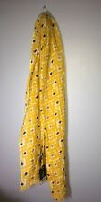 "Max Mara Weekend Dotted ""onesti"" Linen Blend Scarf NWT $105"