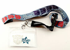NEW Universal Studios Transformers Shields Lanyard with Badge Holder
