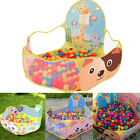 New Portable Outdoor Ocean Ball Pit Pool Indoor Kids Pet Baby Play Game Toy Tent