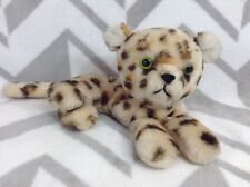 Vintage 1978 R Dakin Leopard Cheetah Plush Stuffed Animal Toy Spotted Laying