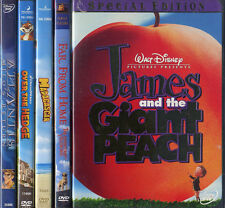 JAMES GIANT PEACH / MADAGASCAR / OVER HEDGE / ATLANTIS MILOS RETURN etc DVD LOT