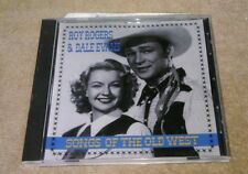 Songs of the Old West by Roy Rogers & Dale Evans CD MCA Home On The Range