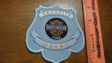 CALIFORNIA SECURITY GUARD  MOTORCYCLE BLUE KNIGHTS OBSOLETE PATCH     BX 12 #15
