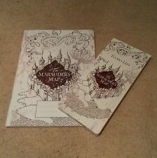 Harry Potter 2in1 Set:  'Marauders Map Exercise Book & Marauders Map To-do List'