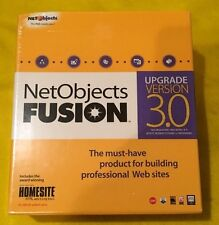 NetObjects Fusion Version 3.0 for Windows NEW Sealed UPGRADE VERSION