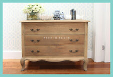 *IN STOCK NOW* NEW French Provincial Hamptons Style solid oak chest of drawers