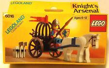 LEGO Castle Lion Knights #6016 Knight's Arsenal 1987 New in Sealed Box Rare!