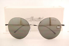 New Silhouette Sunglasses ADVENTURER 8685 6220 Silver/Grey with Silver Mirror