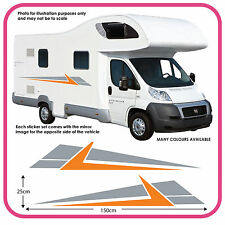 Motorhome Vinyl Graphics Stickers Decals Camper Van RV Caravan Horsebox mh3c