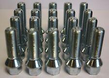 20 x M14x1.5 50MM Lungo Esteso Alloy Ruota Bulloni FIT MERCEDES A CLASS W169