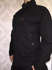 G STAR RAW ZERO overshirt/jacket, size XXL, black combat ripstop, NEW