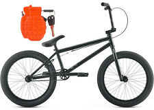 2016 Kink Launch Matte Guiness BK Hi-Ten Steel Complete BMX Bike Bundle w/L