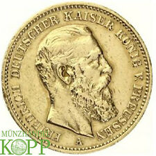 Z905) J.248 PREUSSEN 20 Mark 1888 A - Friedrich III. 1888 - Gold