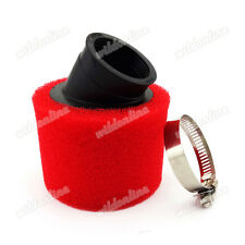 Rot 42mm Luftfilter Für 125cc 140cc Pit Dirt Bike GY6 150cc Moped ATV Quad