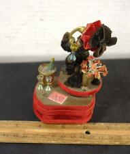 Vintage Thorens Chenille Dog On Phone Jerry McMillan Music Box Works !