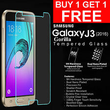 For Samsung Galaxy J3 (2016) Genuine Gorilla Tempered Glass Screen Protector