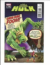 THE TOTALLY AWESOME HULK # 1.MU (GWENSTER UNLEASHED VARIANT, MAY 2017), NM NEW