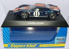 SUPERSLOT H2755 FORD GT40  #11   DAYTONA 1967     SCALEXTRIC UK  MB