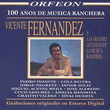 Vicente Fernandez y las Grandes Leyendas de la Musica Ranchera, CD (Orfeon,2003)