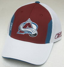 NHL Colorado Avalanche Multi-Color Structured OSFA Mesh Back Fitted Hat By RBK