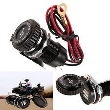 Dual USB Motorcycle Car Power Supply Charger Waterproof Port Socket For Phone