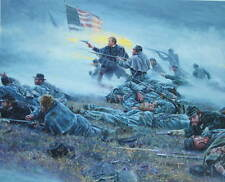 """Courage in Blue ""Mort Kunstler Civil War"