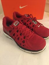 Nike Men's Dual Fusion Run 2 Red Running Shoes Size 12.5 NIB