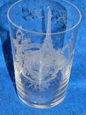 RARE exposition universelle PARIS 1889 ancien VERRE en CRISTAL de ST LOUIS glass
