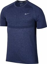 NWT Nike Dri Fit Knit Sz Small Navy Purple MSRP $80 717758-410