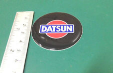 "DATSUN★4 x NEW★ Emblems 50mm (2"") WHEEL CENTER CAP STICKERS 3D DECALS"